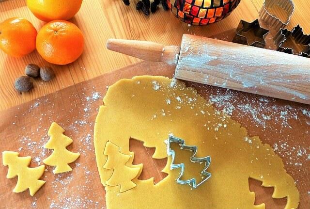 dekoracje bożonarodzeniowe z ciasta