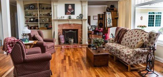 antyki i starocie w mieszkaniu